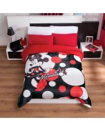 Cobertor Borrega Minnie Dots