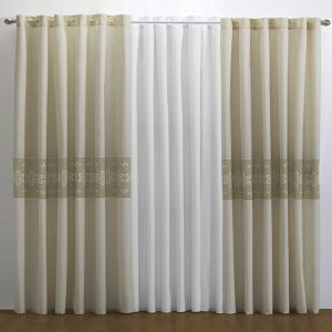 Cortina Decorativa Aranza Beige