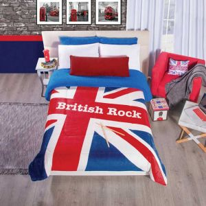 Cobertor Borrega British Rock
