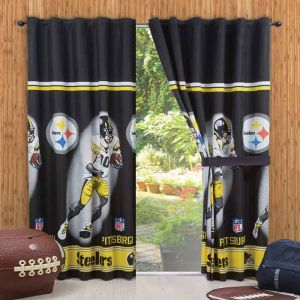Cortina Decorativa Pittsburgh Nfl