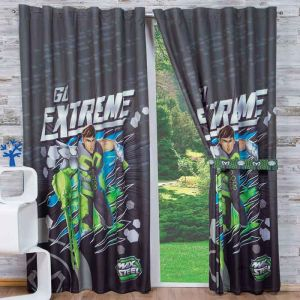 Cortina Decorativa Max Steel Xtreme