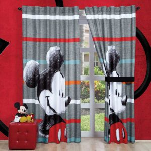 Cortina Decorativa Mickey