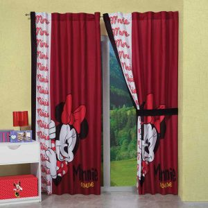 Cortina Decorativa Minnie