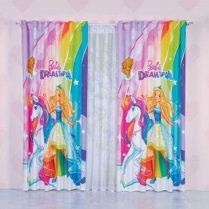 Cortina decorativa Barbie Dreamtopia