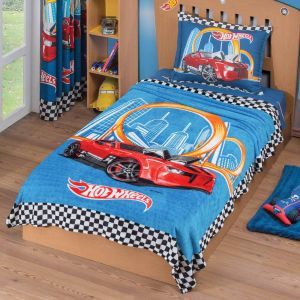 Cobertor Ultrasuave Hot Wheels